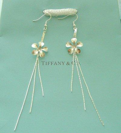 Amazing Sterling new style flower earrings