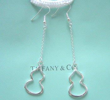 Amazing Sterling new style cucurbit long dangling earrings