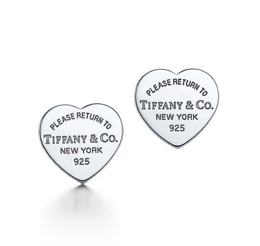 Amazing Sterling new style heart earrings