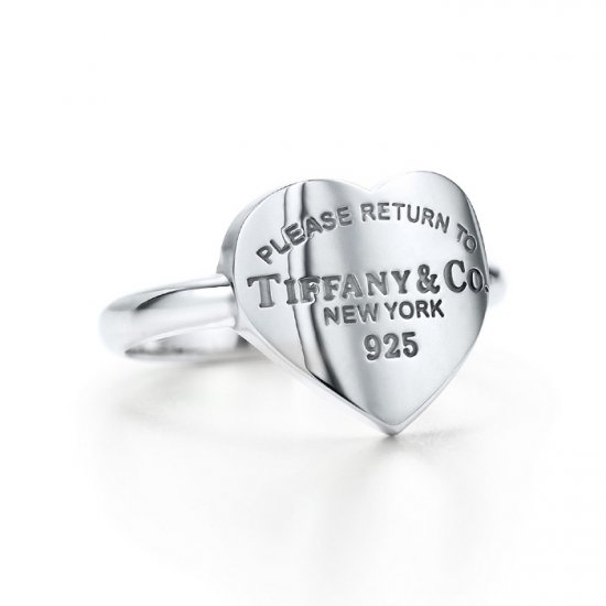 Beautiful Sterling new style big heart ring