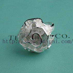 Beautiful Sterling new style rose flower ring