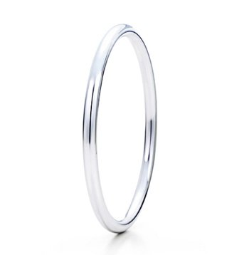 Beautiful Sterling new style heart and double orbit bracelet bangle