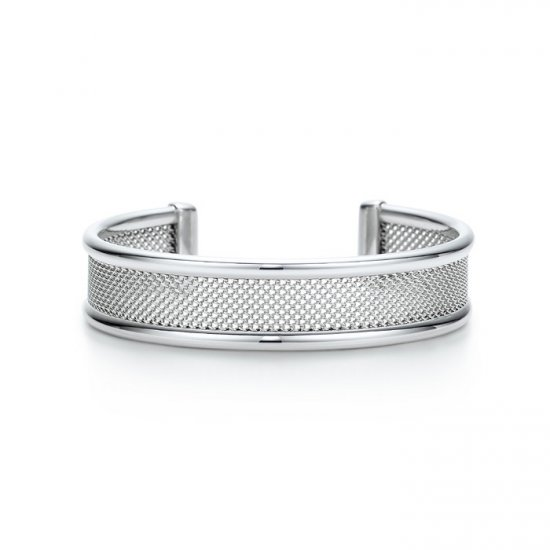 Beautiful Sterling gridding bracelet bangle