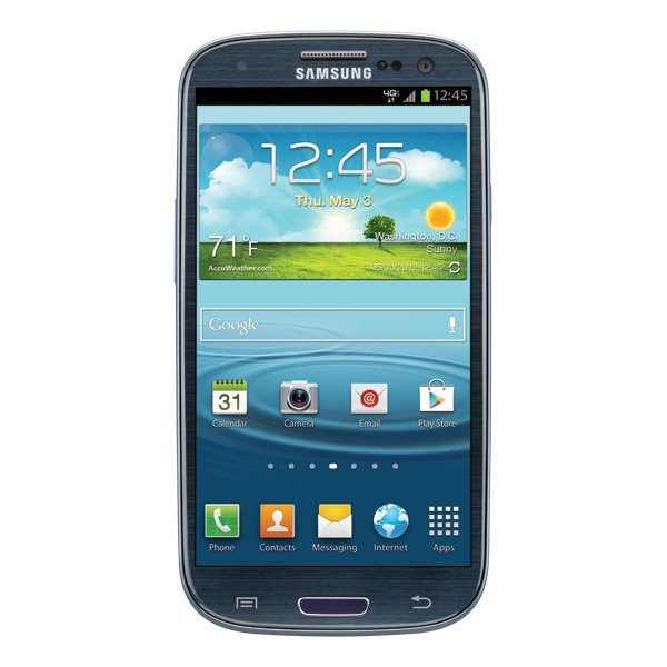 Samsung Galaxy S3 S III 16GB Prepaid Verizon Smartphone Blue 4G Mobile No Contract Android Cellphone
