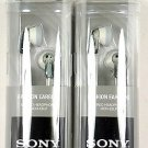 Lot of(2) SONY MDRE9LP/GRAY Earbuds/Earphones(Gray) for mp3/tablet/laptop/phone