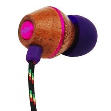 House of Marley   People Get Ready   In-Ear Headphones   Rasta   3 Button W/ Mic