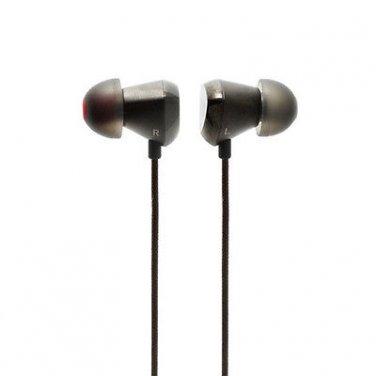 Moshi Vortex Premium In-Ear Headphones w' Case - Deep, Clean Bass Earphones Buds