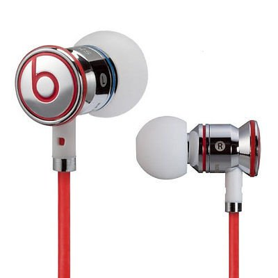 New Monster Beats by Dr Dre iBeats In Ear Headphones Earphones Chrome
