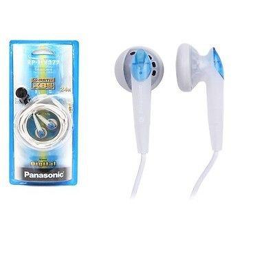 Panasonic RP-HV377-A In-Ear Earbud S-Path Design for hi-fi sound RPHV377 Blue