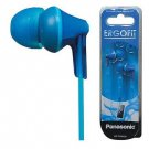 Panasonic RP-TCM125-A In-Ear Buds w/ Mic & Remote For Smartphone RPTCM125 Blue