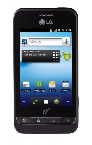 """LG OPTIMUS L45C NET 10 ANDROID SMARTPHONE CELL PHONE 3.2"""" TOUCHSCREEN"""