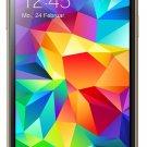 Samsung Galaxy S5 Mini G800H 16GB HSPA+ Unlocked GSM Dual-SIM Quad-Core Smartphone - Copper Gold