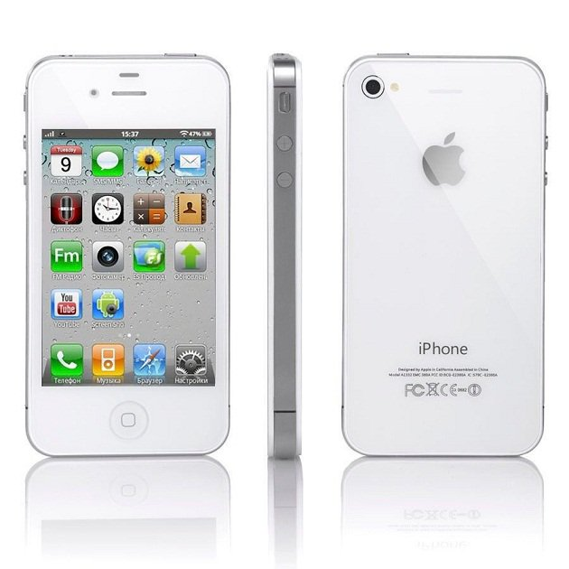 t mobile iphone 4 apple iphone 4 8gb white at amp t mobile smartphone 1637
