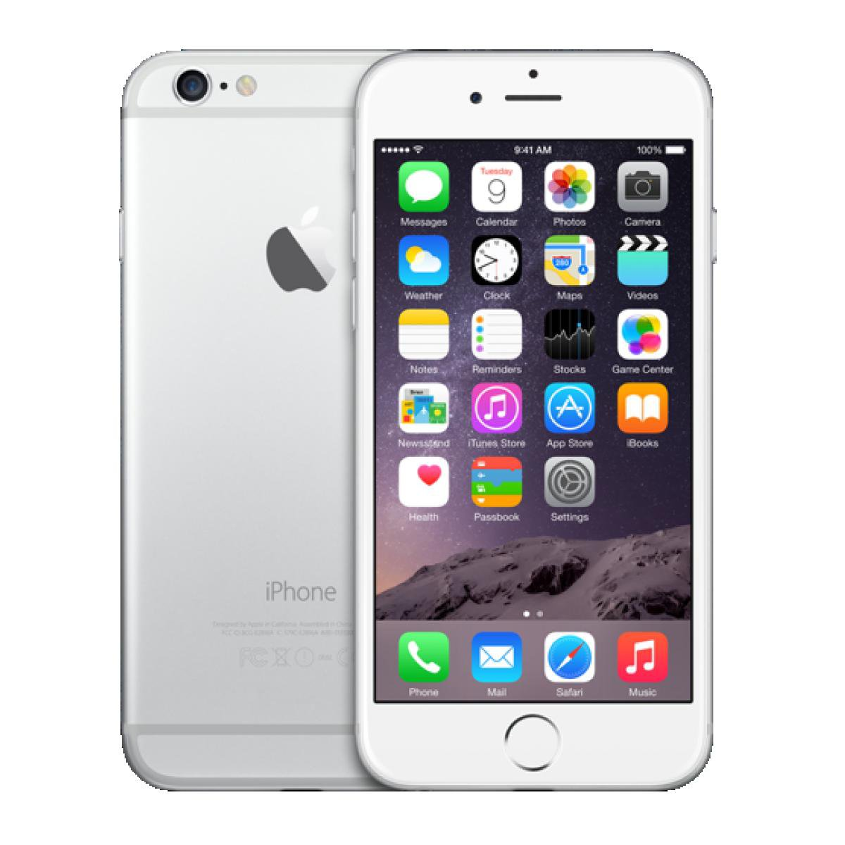 no contract iphones apple iphone 6 128gb verizon silver smartphone a1549 4g 3447
