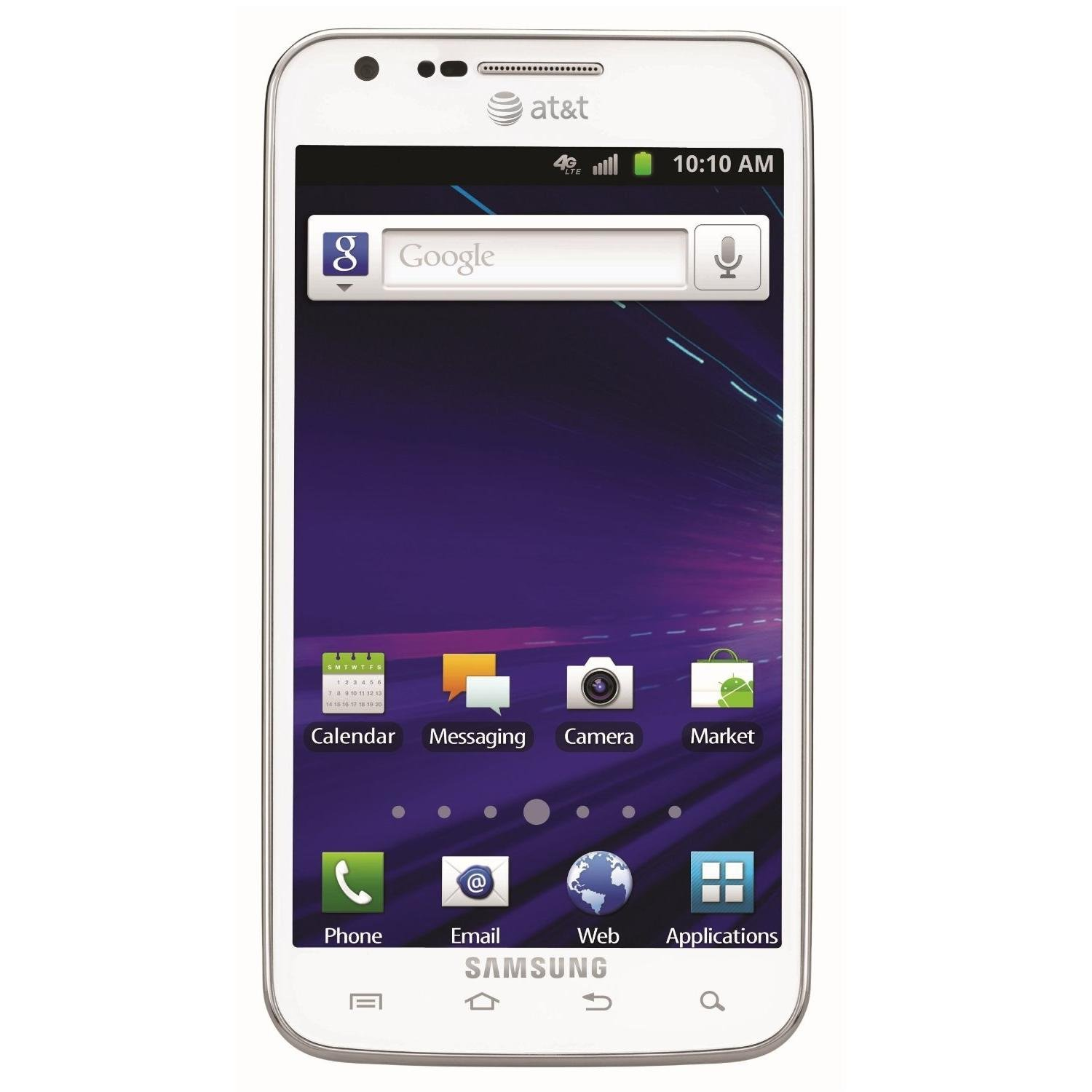 Samsung Galaxy S2 S II Skyrocket 16GB White AT&T Cellphone ...