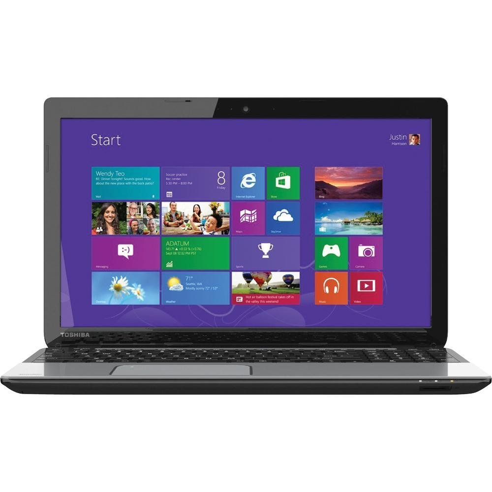 "Toshiba Satellite L55-A5284 15.6"" Laptop PC - 750GB HDD - 1.8GHz - i5 Core Computer - Mercury Silver"