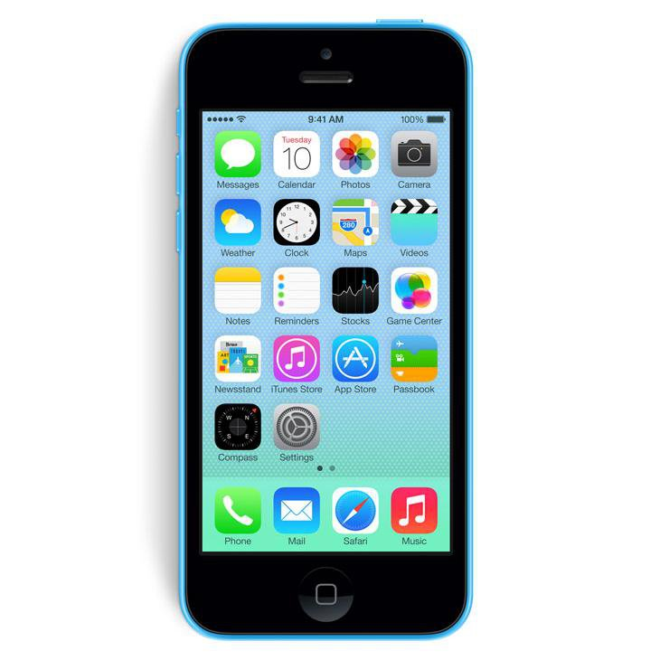 iphone 5c no contract apple iphone 5c 16gb at amp t blue smartphone ios 8 gsm a1532 3167