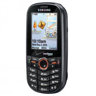 Samsung Intensity SCH-U450 No-Contract Verizon Wireless Mobile Black Slider Cell Phone