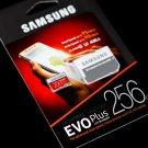 Samsung EVO+ 256GB MicroSDXC UHS-I Transfer Flash Memory Card 4K Ultra HD Micro SD Adapter Class10
