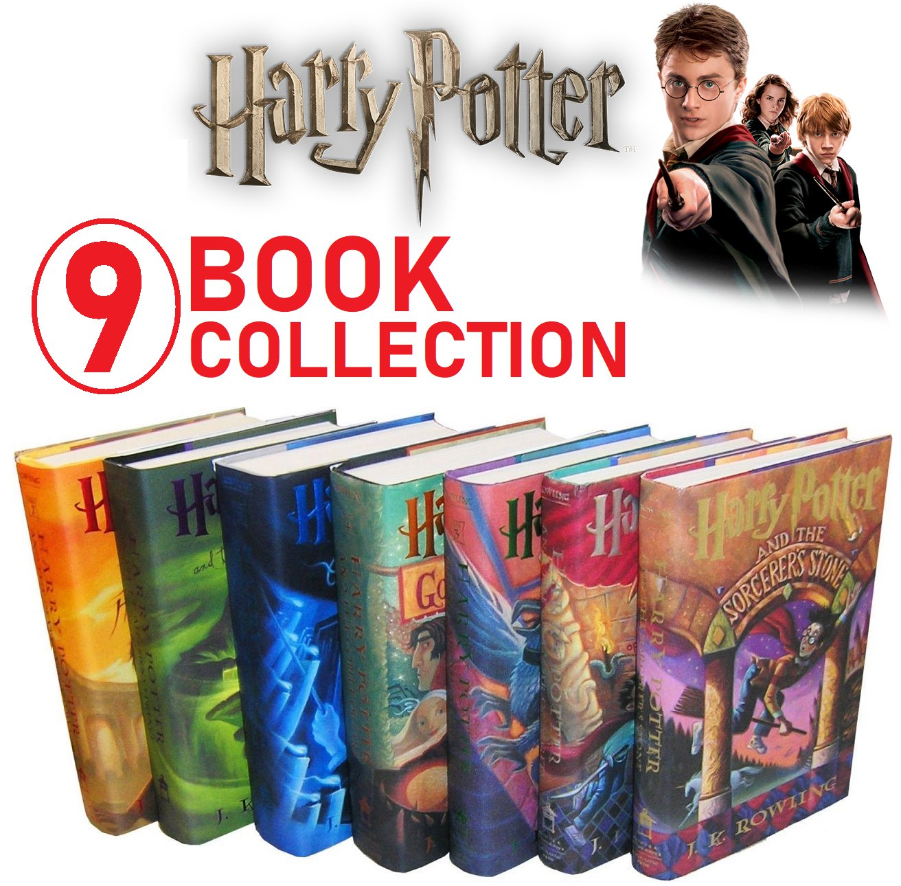 pdf ebook Books 1-7 Harry Potter The Complete Collection