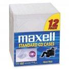 Maxell 190069  CD/DVD Jewel Cases CD-360 - Jewel Case - Book Fold - Plastic