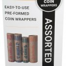 Royal Sovereign FSW-504A 504 Assortment Pack Preformed Coin Wrappers
