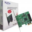 HighPoint Rocket 620A (2 Channel) Dual Port SATA 6Gb/s PCI-E x1 Low Profile Host