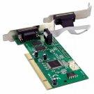 StarTech PCI2S950DV 2 Port PCI Dual RS232 Serial Adapter Card w/ 16950 UART