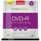 Maxell 639016 16x DVD+R Media - 120mm 4.7GB SPINDLE BRANDED