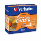 Verbatim 96320 DVD-R 4.7GB 16X UltraLife Gold Archival Grade w/ Branded Surface