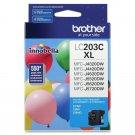 Brother LC203C Genuine Innobella High Yield Cyan Ink Cartridge - Inkjet