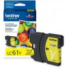 Brother LC61Y Original Ink Cartridge - Inkjet - 325 Pages - 1 Each