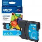 Brother LC61C Original Ink Cartridge - Inkjet - 325 Pages - Cyan