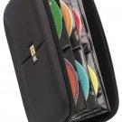 Case Logic CDE-48 CD Wallet - Book Fold - Fabric - Black