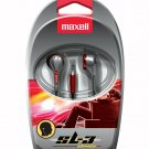 Maxell 190568 EB-125 Stereo Earphone - Stereo - Black- Wired - 32 Ohm-3 ft Cable