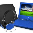 "Ematic EPD909BU EPD909 Portable DVD Player - 9"" Display - 640 x 234 - Blue"