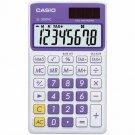 Casio SL-300VC-PL Pocket Calculator 8 Digits - LCD - Battery/Solar Powered