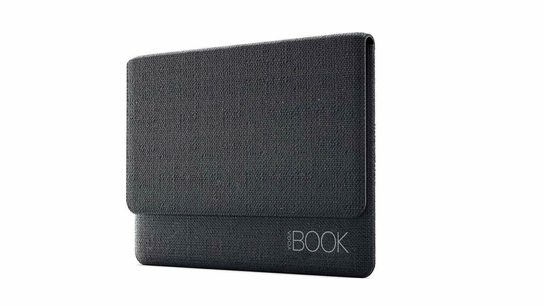 "NEW Lenovo Yoga Book Two Pockets 12"" x 8"" Sleeve Grey Microfiber"