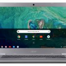 "Acer 15.6"" Touchscreen Chromebook Intel Celeron 2.40GHz 32GB SSD 4GB RAM Silver"
