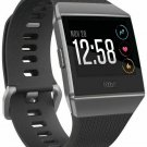 Fitbit Ionic GPS Fitness Tracker Smartwatch Small/Large Water Resistant Charcoal Black