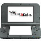 Nintendo New 3DS XL Launch Edition Handheld System Amiibo and NFC Support Black
