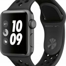 Apple Watch Series 3 Nike+ 38mm GPS Heart Rate Anthracite Sport Band Space Grey