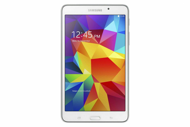 "Samsung 8"" Galaxy Tab 4 Android 16GB ROM 1.5GB RAM with 16GB Micro SD Card White"