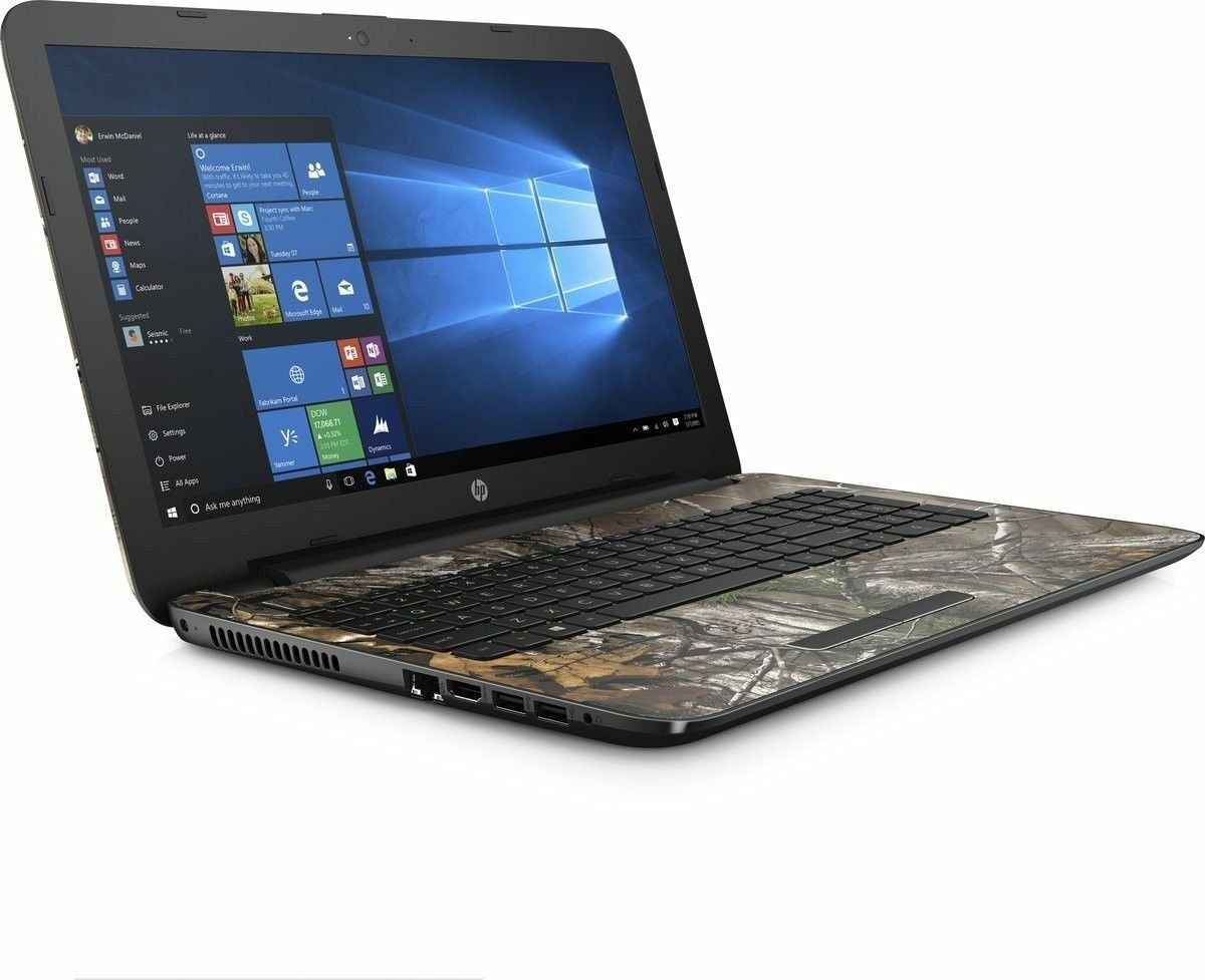 "HP 15.6""  Realtree Camo  4GB Ram  1TB HD  1.6GHz   Windows 10 Home"