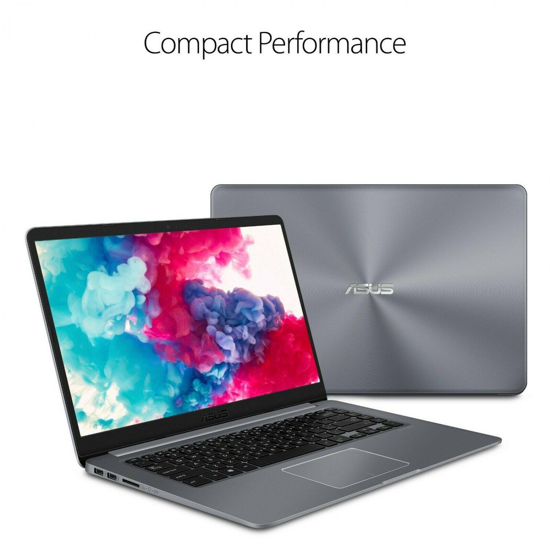 "ASUS VIVBOOK 15.6"" FHD Laptop Quad Core 3.6GHZ 128GB SSD 4GB RAM Windows 10"