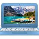 "HP Stream 11.6"" HD Laptop Intel 2.48GHz 32GB SSD 4GB RAM Webcam Windows 10 -Blue"