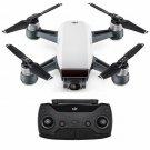 DJI Spark Controller Combo Alpine White Mini Drone 1080p 12MP 16mins 30M VPS
