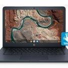 "HP 14"" Touchscreen DualCore Chromebook Laptop 4GB RAM 16GB eMMC Webcam Bluetooth"