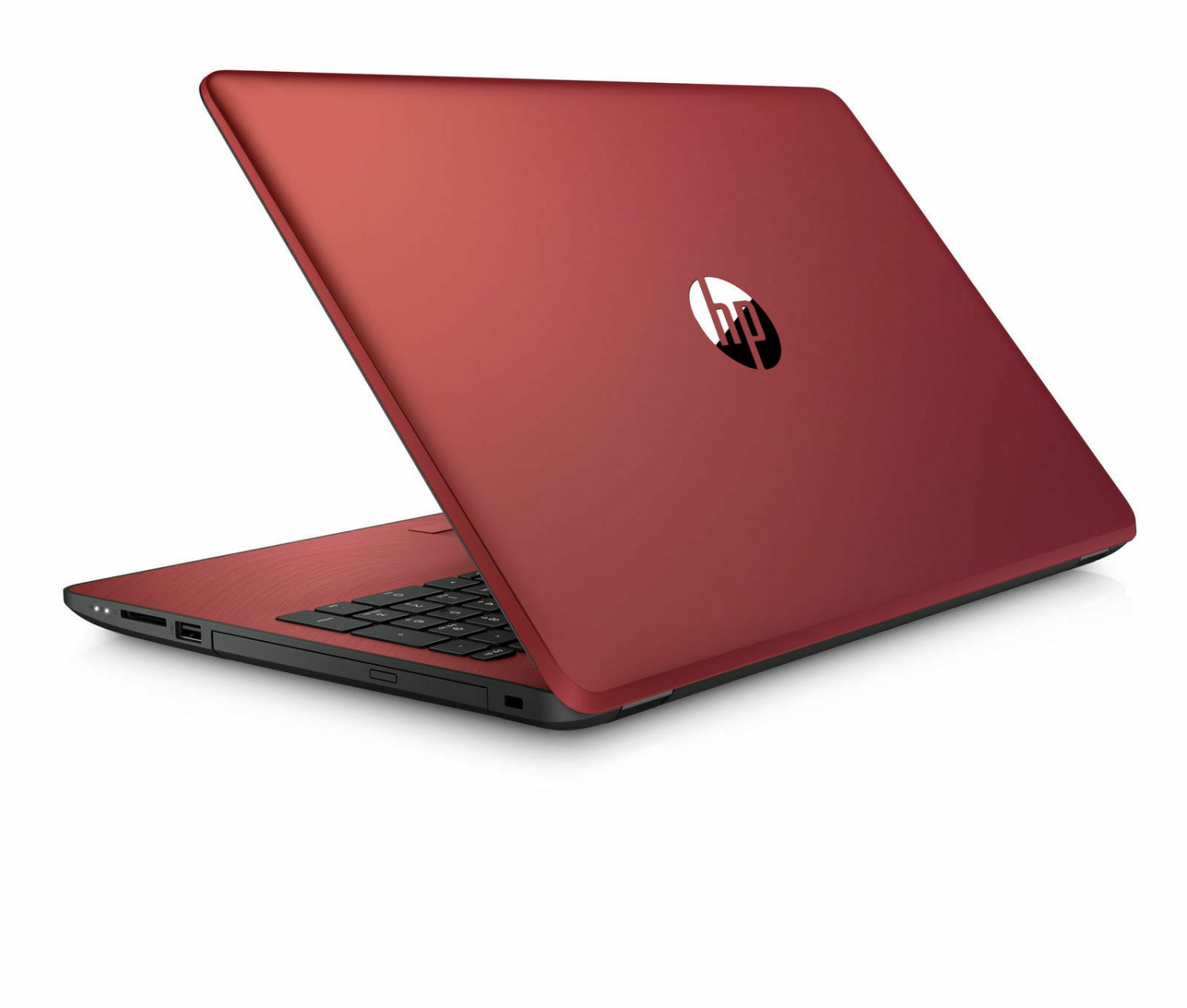 "HP Pavilion 15-bs134wm 15.6"" Notebook Intel Pentium Gold 500GB HDD 4GB RAM DVD Webcam Win 10 - Red"