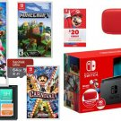 Nintendo Switch Bundle Super Smash Bros + Minecraft + Carnival + $20 + MORE!
